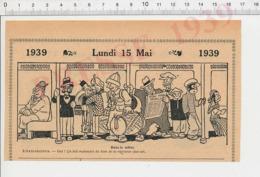 2 Scans Humour Paris Cosmopolite Rame De Métro Métropolitain étiquette Valise Pernambouc Tombouctou Voyage à Rome 226MF - Non Classés