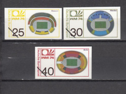 Football / Soccer / Fussball - WM 1974:  Germany  3 Vign (*) - 1974 – Westdeutschland
