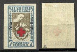 Estland Estonia 1923 Michel 47 B * Signed - Estland