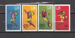 Football / Soccer / Fussball - WM 1974:  Germany  4 Vign (*) - Coppa Del Mondo