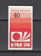 Football / Soccer / Fussball - WM 1974:  Germany  Vign (*) - 1974 – Westdeutschland