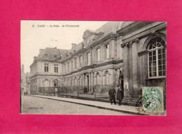 14 Calvados, CAEN, Le Palais De L'Université, Animée, (A. D.) - Caen