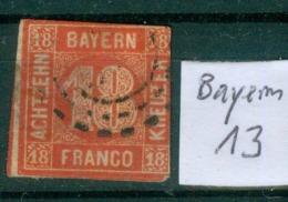 Bayern 13     O / Used  (L896) - Bayern