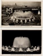 Exposicion International Barcelona 1929 - N° 104 & 120 - Fuente Monumental - Fontaine Fountain - Barcelona