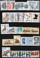 1986 Finland Complete Year Set Used. - Finland