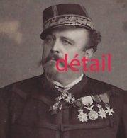 CDV Vers 1880-officier Médaillé-général De Brigade? Photo Walery à Paris - Guerra, Militares