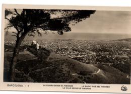 Barcelona 1929 - Oriol N° 1 - Ciudad Desde El Tibidabo - Barcelona