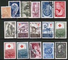 1957 Finland Complete Year Set Used. - Finland