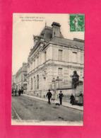49 Maine Et Loire, CHOLET, La Caisse D'Epargne, Animée, 1908, (Vasselier) - Cholet