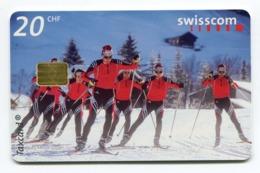 Telecarte °_ Suisse-94-Fond.groupe- R/V 4028 ° TBE - Zwitserland