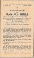 Teralfene, Pamel, Julia Bosteels - Devotieprenten
