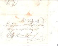 Charente Maritime :- MARANS Dateur Type 12 Taxe 3 Manuscrite - Marcofilia (sobres)