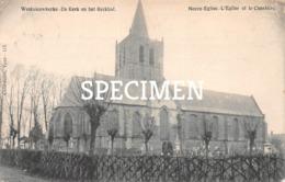 Westnieuwkerke  De Kerk En Het Kerkhof - Nieuwkerke - Heuvelland
