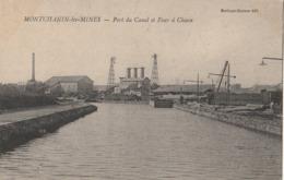MONTCHANIN Les MINES  Port Du Canal Et Four à Chaux - France