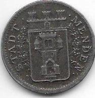 *notgeld  Menden 10 Pfennig 1919 Fe  328.8 - Autres