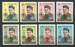 253 AFGHANISTAN 1962 - Yvert 684/87 A 32/35 - Scout Jamboree - Neuf ** (MNH) Sans Trace De Charniere - Afganistán