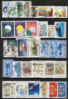 1988 Finland Complete Year Used With Circle Cancels. - Finland