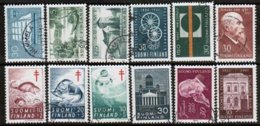 1961 Finland Complete Year Set Used. - Finland