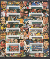Football / Soccer / Fussball - WM 1982:  Central Afrika  12 SoBl  ** - Fußball-Weltmeisterschaft