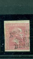 Preussen, Friedrich Wilhelm IV., Nr. 10, Stempel Bahnpost Königsberg-Bromberg - Prussia