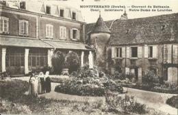 Montferrand Doubs Couvent De Bethanie Cour Interieure Notre Dame De Lourdes - Altri Comuni