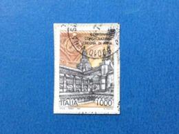 1997 ITALIA FRANCOBOLLO USATO STAMP USED CERTOSA DI PAVIA - 6. 1946-.. Repubblica