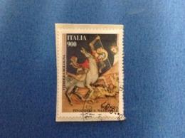 1997 ITALIA FRANCOBOLLO USATO STAMP USED PATRIMONIO ARTISTICO E CULTURALE DA 900 PINACOTECA DI BOLOGNA - 6. 1946-.. Repubblica