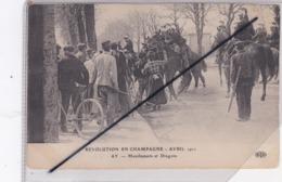 Ay (51) Révolution En Champagne Avril 1911- Manifestants Et Dragons - Ay En Champagne