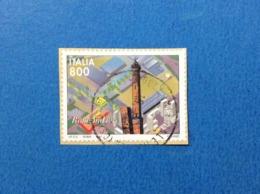 1997 ITALIA FRANCOBOLLO USATO STAMP USED FIERA DI BOLOGNA - 6. 1946-.. Repubblica