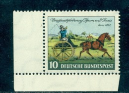 1952 Cariole Carriage,Turn Und Taxis Post Coach 1846,Germany,Mi.160,CV€9/$12,MNH - Stage-Coaches