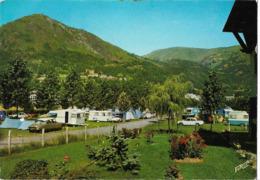 SAINT LARY - Le Camping Municipal - Voiture : Citroen DS - Peugoet  - Caravane - France