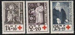 1933 Finland, Red Cross Full Set **. - Neufs