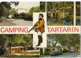 TARASCON - Le Camping Tartarin - Vues - Voiture : Citroen DS - Tarascon