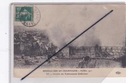 Ay (51) Révolution En Champagne Avril 1911- Incendie Des Etablissements Geldermann - Ay En Champagne
