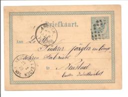 Briefkaart G10.Puntstempel 8 Arnhem (Verzwommen) 20.1.78>Neustadt In Baden 21.1.78 - Ganzsachen
