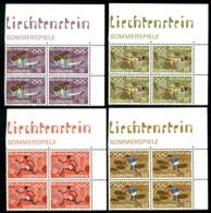 Liechtenstein 1972 Munich Olympics,Discobolus,High Jump,Gymnastics,Mi.556,MNH - Summer 1972: Munich