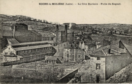 Mines, Mine : Roche-la-Molière - (42) Loire - La Côte Durieux - Le Puits Du Sagnat - France