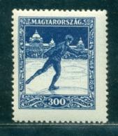 1925 Figure Skating,Eiskunstlauf,winter Sport,Hungary,405,MNH - Figure Skating