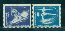 1950 Winter Sports,Downhill/alpine Skiing,Figure Skating,DDR,246,CV€16/$22,MNH - Figure Skating