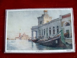 (FP.A05) VENEZIA - LA DOGANA (artistica, Illustrata) - Venezia (Venice)
