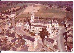 PLOREC - Centre Bourg - Cliché Aérien Original - Essai Avant Tirage - Archive COMBIER (266-5) - Photo UNIQUE - Other Municipalities