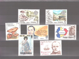 Année 1983 ** MNH N° 159 à 164 - Spanish Andorra