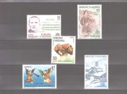 Année 1985 ** MNH N° 172 à 176 - Spanish Andorra