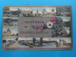 86 ) Souvenir De  Chatellerault - Multis Vue - Année  - EDIT - Blay - Chatellerault