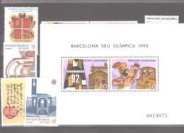 Année 1987 ** MNH N° 182 à 188 - Spanish Andorra
