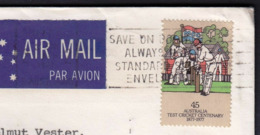 Australia 1977 / Save On Postage, Always Use Standard Size Envelope / Slogan, Flamme, Machine Stamp - Post