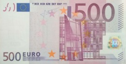 EURO ALEMANIA(X) 500 RO17 TRICHET, AUNCIRCULATED - EURO