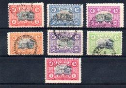 Maroc Postes Locales N° 62 à 68 Oblitérés  A Saisir !!! - Morocco (1891-1956)