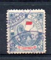 Maroc Postes Locales N° 77 (avec Un Clair Mais Beau D'apparence)  Oblitérés  A Saisir !!! - Morocco (1891-1956)