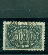 Deutsches Reich, Wertziffern Im Oval, Nr. 256 D Gestempelt, Geprüft BPP+ Infla - Used Stamps